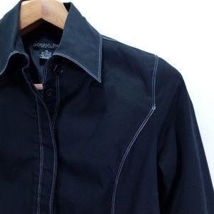 Donna Rae Size 10 Black Jacket